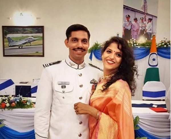 Martyr Squadron Leader Samir Abrol's widow is all set to join the Air Force