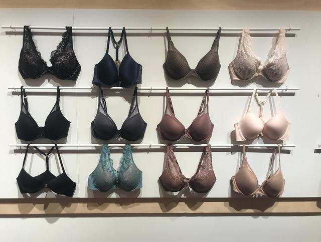 """There are a few things that are very different from a traditional bra shop: There are no hangers, there are no racks of product,"" Zak said."