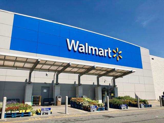 First, we stopped by Walmart in Secaucus, New Jersey.