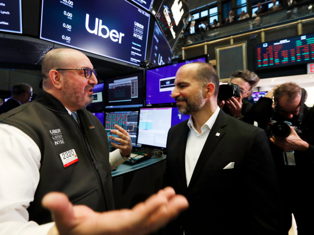 Uber Retreats on Loss of $5.24 Bln U.S., Misses Analysts Forecasts