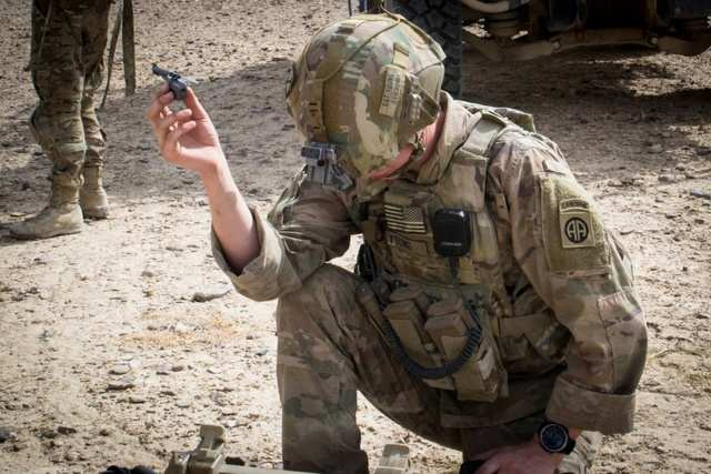Soldiers are taking these nano drones on patrol in combat zones