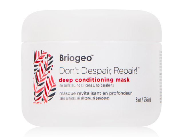 A hair mask packed with oils, keratin, and biotin to revitalize and repair brittle, frizzy hair