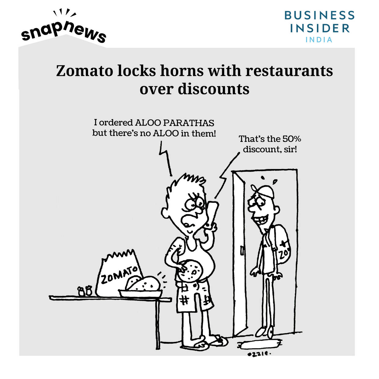 Zomato CEO Deepinder Goyal responds to the 'logout' movement – restaurant owners mock him on Twitter