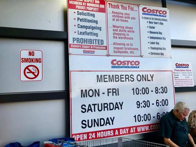 Sams Club Sunday Hours >> We Shopped At Costco And Sam S Club And Found Costco S Extra
