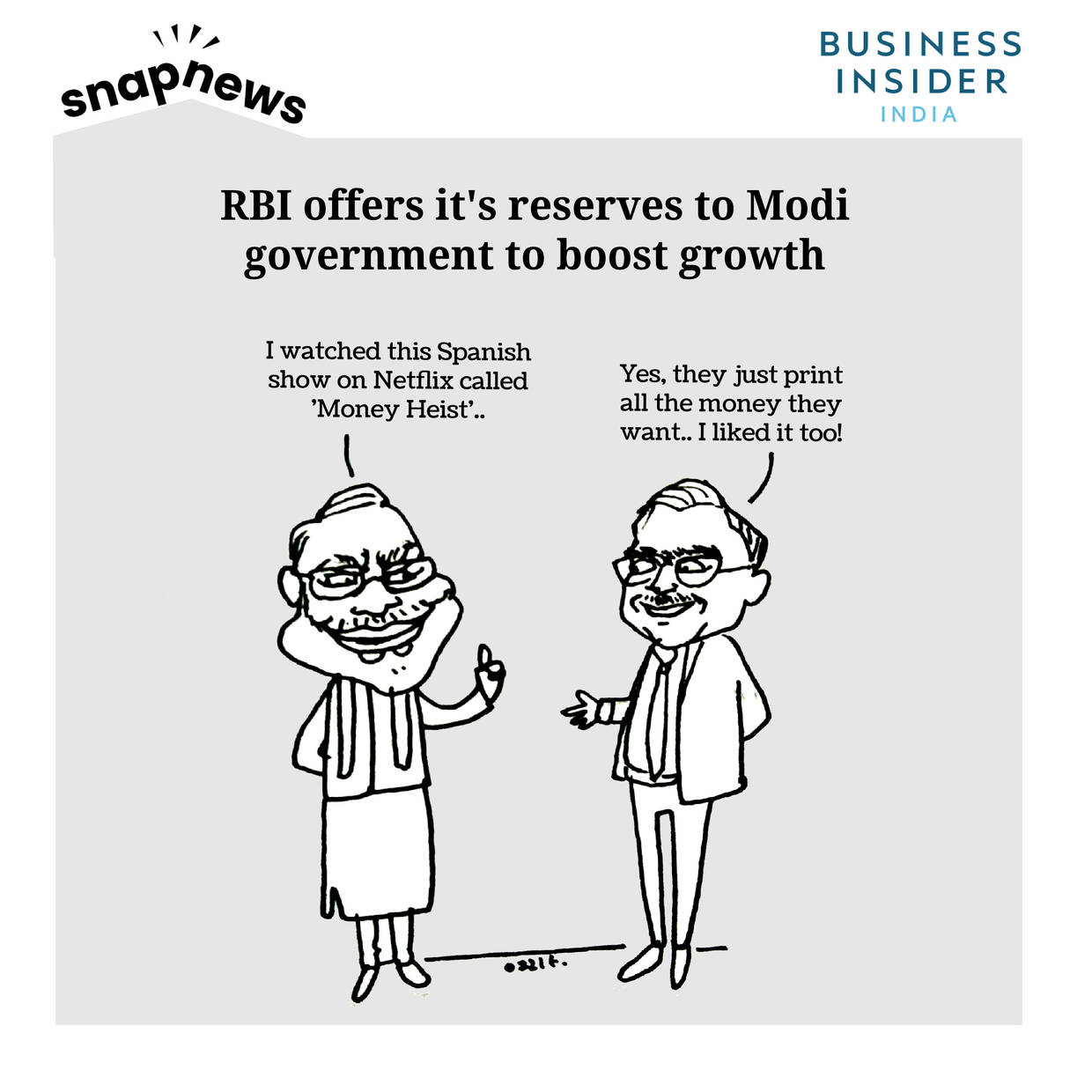 RBI offers Narendra Modi government money to boost growth-- share markets cheer