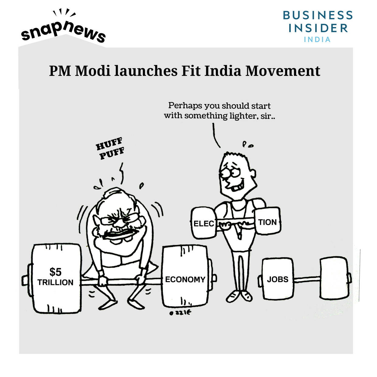 "Modi wants India to stay fit by ditching ""fashionable"" Fitbits and health apps"