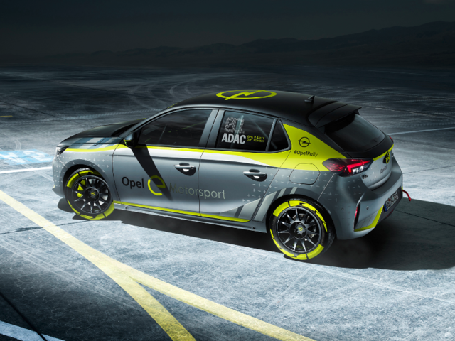 See the world's first fully electric rally car: the Corsa-e