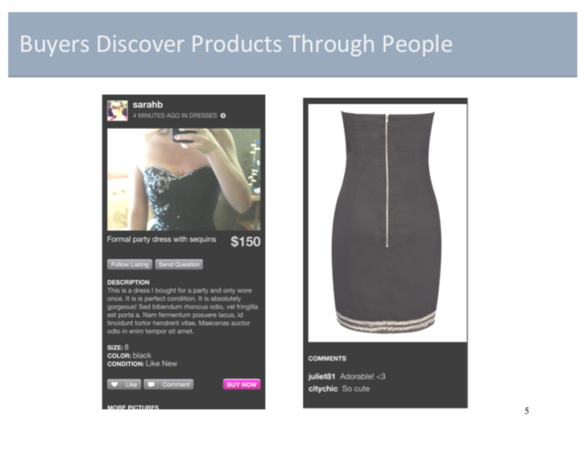 Before it was a smash hit, clothing resale app Poshmark