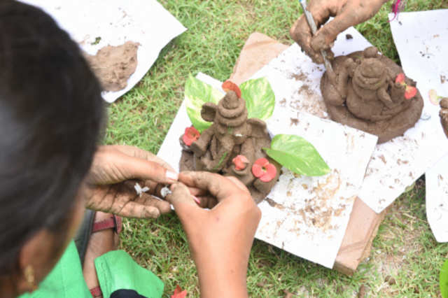 Millions of Indians opt for a Lord Ganesha who is green, clean and eco-friendly
