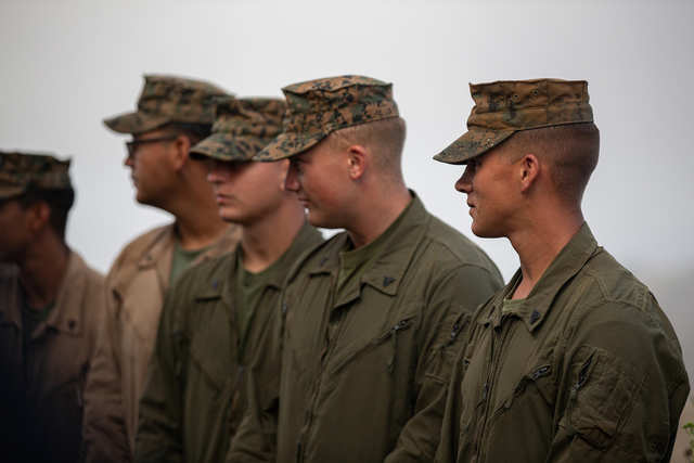 Marines competed at Camp Pendleton to find the Corps' most