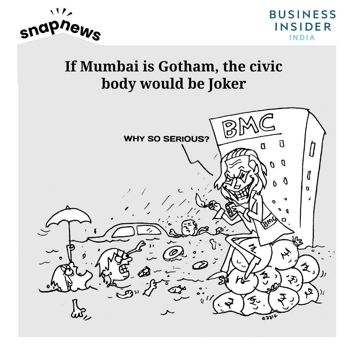 If Mumbai is Gotham, the civic body would be the Joker