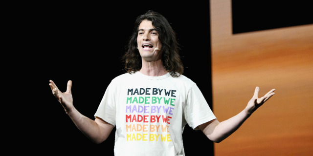 WeWork owner considers slashing IPO valuation to below $20b class=
