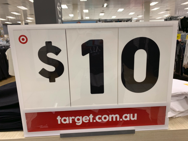 There's an Australian store called Target that has nothing