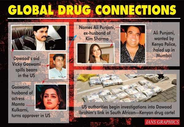 US busted a drug racket that has links to Bollywood, Dawood