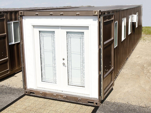 The MODS 40 tiny home was designed from an actual shipping container.