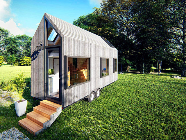 A few of these tiny homes on wheels are incredibly well designed to ensure the most is made of the small amount of space to live.