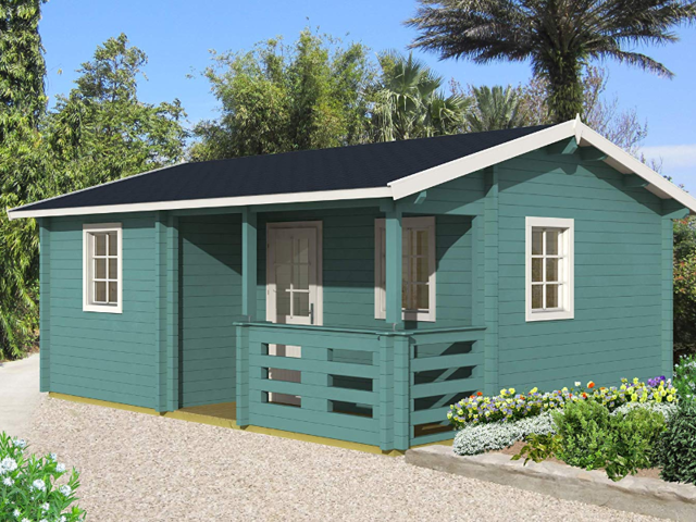 While it may be daunting to drop over $20,000 on a bare-bones tiny home like the EZ Log Structures Verona, it seems cheap compared with the price of an apartment of similar size in the heart of Silicon Valley or New York City.