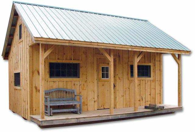 In contrast, this 400-square-foot Vermont Cottage would take around 40 minutes to construct, according to seller Jamaica Cottage Shop.