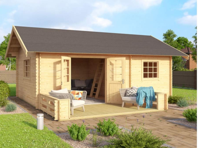 "Meanwhile, a North Carolina-based seller called WNC Tiny Homes suggests using its Brunswick model as an ""extraordinary office or shop."" However, this model, which costs just over $8,000, has nearly $2,300 in shipping fees."