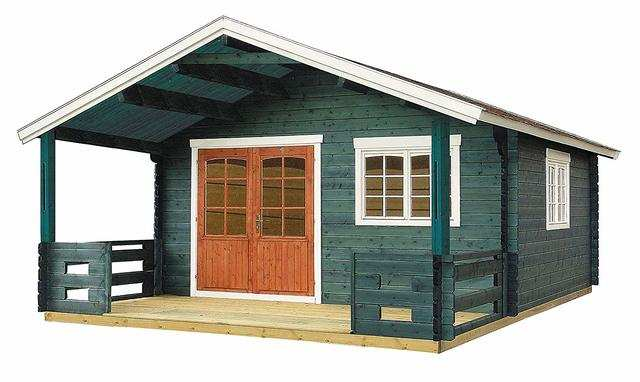 These Allwood homes are often advertised as cabins and not full-fledged residences, likely because the tiny home comes with only bare materials and few features.