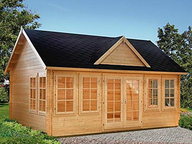 It depends on the model, but some of these tiny home kits will come with other home-building materials, including window glass and roof shingles. Many of them say that construction is fast and easy — although I've yet to personally test that claim.