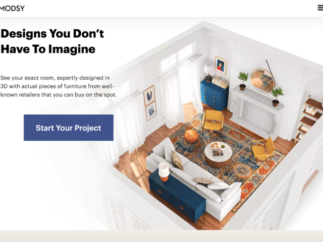 Interior design startup Modsy uses 3D models to let you see ...