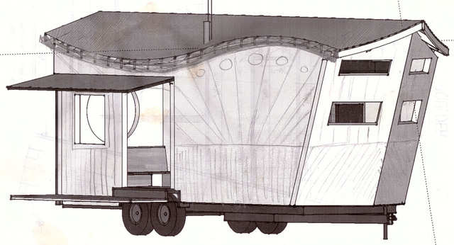 """""""We also see things like people placing bathrooms or other plumbing on the rear of the trailer,"""" he said. """"This is generally a bad idea since the pipes that go under the trailer often get damaged in transport when the trailer goes through dips in the road and this portion of the trailer is most vulnerable to coming in contact with the road."""""""