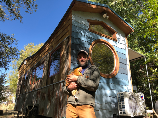 Greg Parham owns Rocky Mountain Tiny Houses, which designs and builds tiny houses in Durango, Colorado. It also offers consulting services and sells tiny house shell builds, DIY kits, and plans for tiny house DIY-ers.