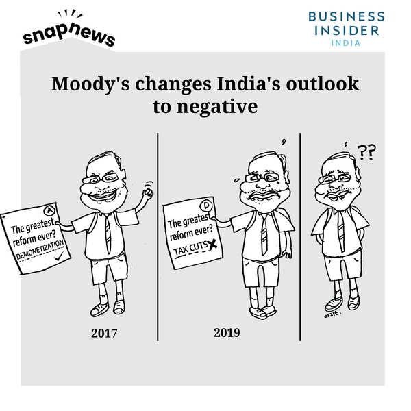 Upgrade post demonetisation, downgrade post tax cuts— Moody's mood swings expose the economist's inertia
