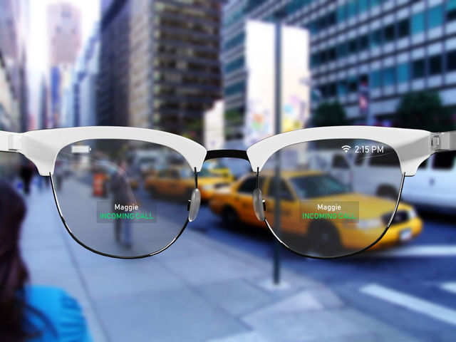 Possibly Apple's first smart glasses