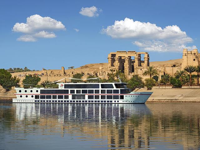 Cairo round trip on the Viking Ra