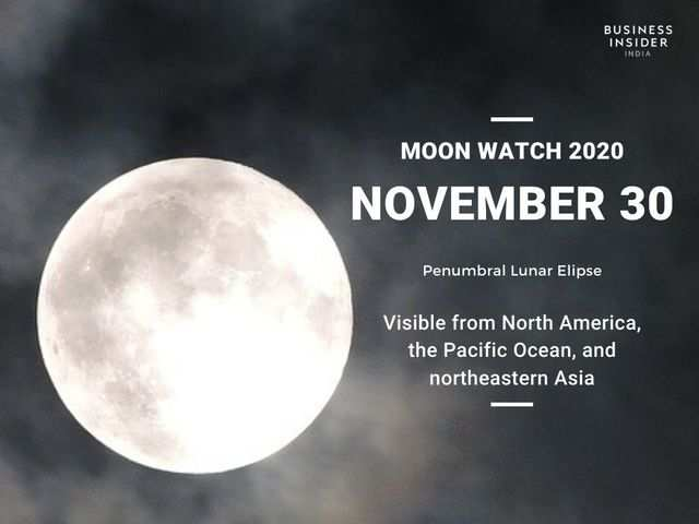 The fourth and final lunar eclipse of the year will take place on November 30, 2020