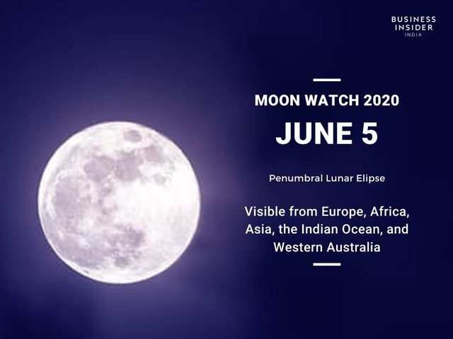 The second lunar eclipse will take place on June 5, 2020