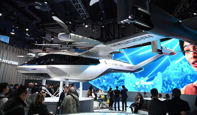 Hyundai's flying cars
