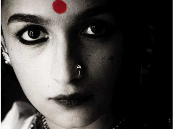 Alia Bhatt as Gangubai Kathiawadi – the woman who once reprimanded the Prime Minister of India