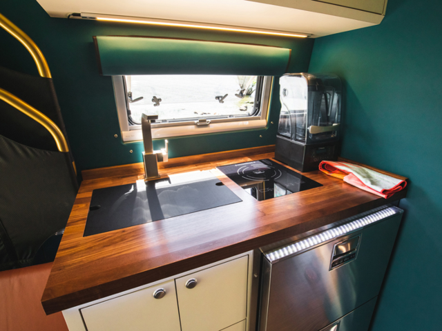 This Custom Tiny Home On Wheels Was Built Inside Mercedes