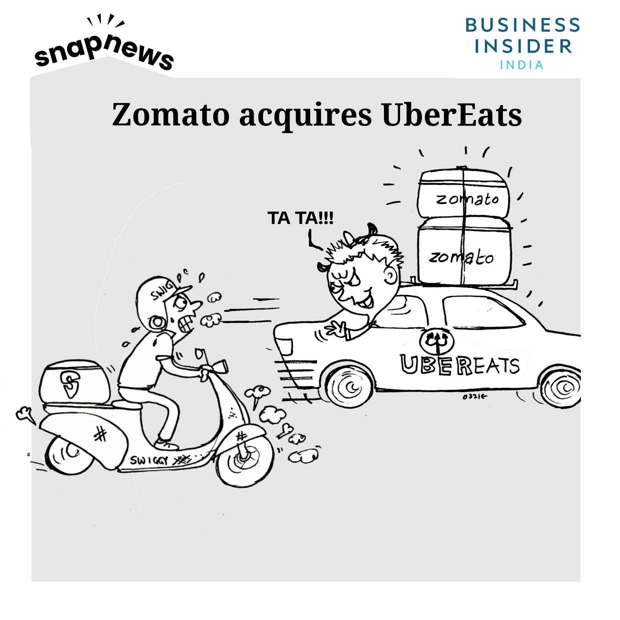 Uber couldn't do what Ola did – instead joins hands with Zomato to leave behind Swiggy