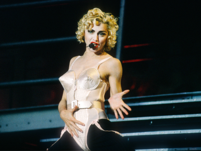 The pop singer asked him to design 358 costumes for her 1990 Blond Ambition tour. This was the beginning of Gaultier as an icon, legend, and haute couture master.
