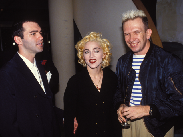 Gaultier met Madonna in 1987 after her concert at the Parc de Sceaux, just outside of Paris. That moment changed Gaultier's life as he knew it.