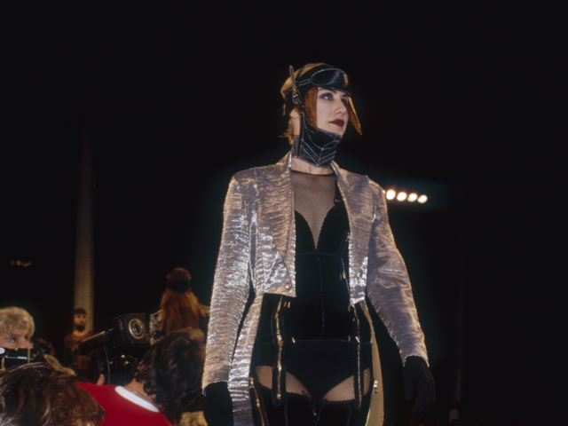 In 1985, Gaultier opened his first boutique in Paris.