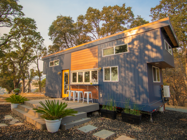 They told Business Insider they were practical with what they needed for day-to-day living, deciding on a 28-foot trailer frame — the largest they'd seen used for a tiny house at that time.