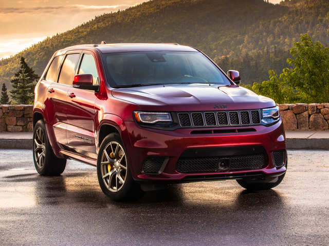 1 Jeep Grand Cherokee Trackhawk 4x4 26 100 Business Insider India