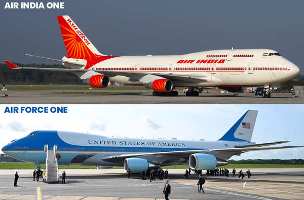 Checkout How President Trump S Plane Stands Out From Narendra