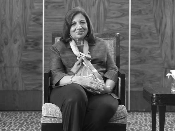Kiran Mazumdar Shaw wanted to be a brewmaster before building the largest biotech company in India