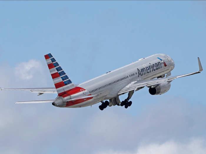 American Airlines' Boeing 757-200
