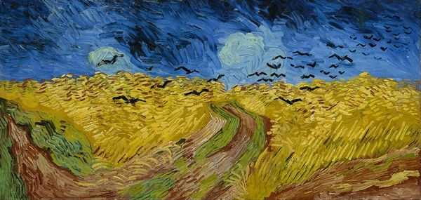 Van Gogh S Painting Spring Garden Stolen From Dutch Museum