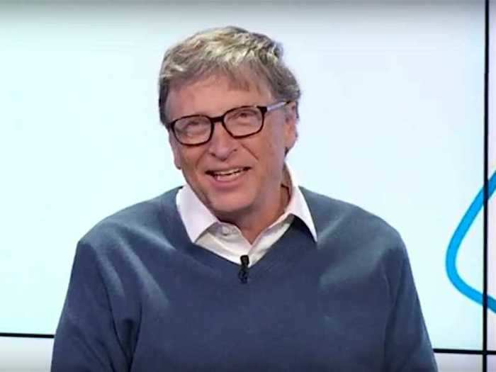 """Despite being especially vocal lately, Gates hasn't said much in response to the conspiracies. """"It's ironic,"""" he told GCTN in a televised interview."""