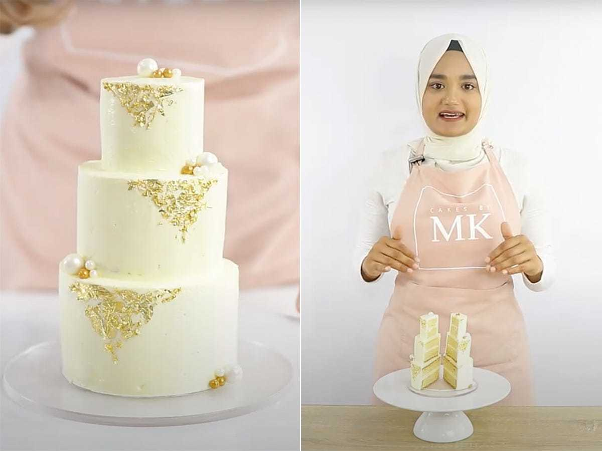 A Baker Taught People How To Make A Tiny Wedding Cake And It S Perfect For Anyone Who Had To Postpone Their Nuptials Business Insider India