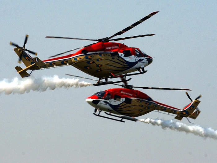 India can build the Dhruv multirole helicopter, Rudra armed helicopter and Light Combat Helicopter (LCH) in house…