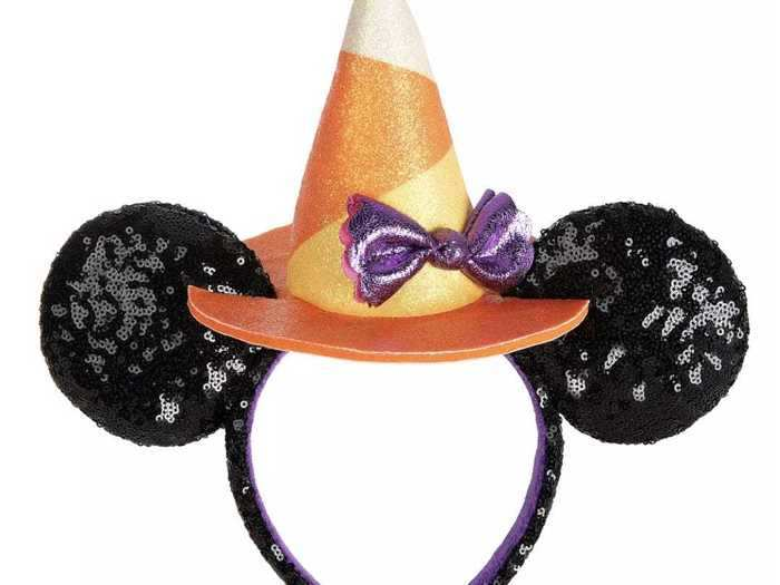 Halloween-inspired Minnie ears make a standout style statement.